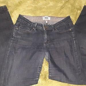 Paige Skyline Skinny Jeans 27